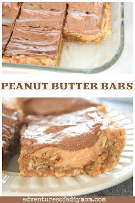 peanut butter bars school recipe