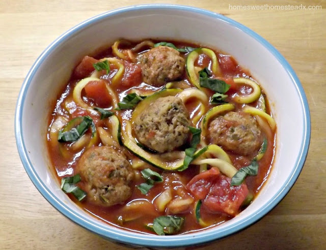 Home Sweet Homestead: Zucchetti and Meatball Soup