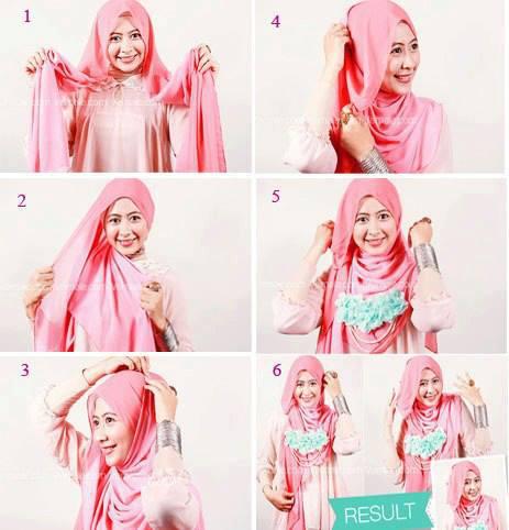 video hijab pashmna