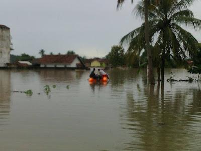 Banjir Pringsewu, 750 KK Warga Sidoharjo Dievakuasi