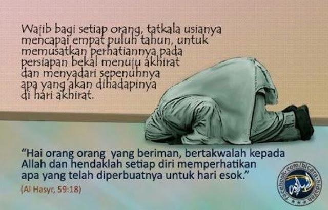 Inilah Pesan Al Quran Saat Usiamu Mencapai 40 Tahun   Anda Wajib Tahu
