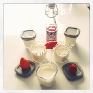 Yaourt saveur Tarte aux fraises