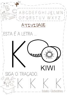 Atividade letra k