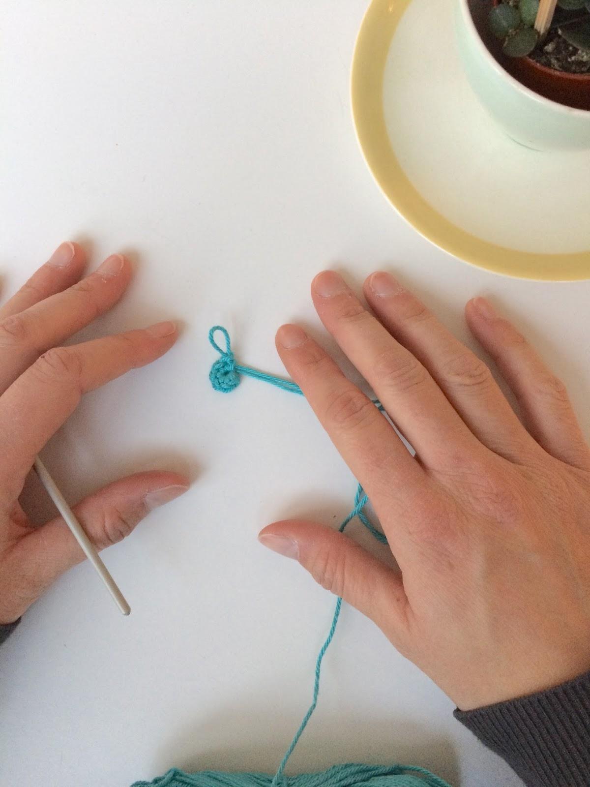 Tutorial Magische Ring Voor Linkshandigen