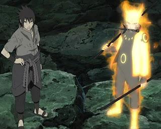 Naaruto, Sasuke, Madara, Pertempuran , Naruto Shippuden
