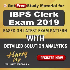 Get Free Study Material For IBPS Clerk 2019