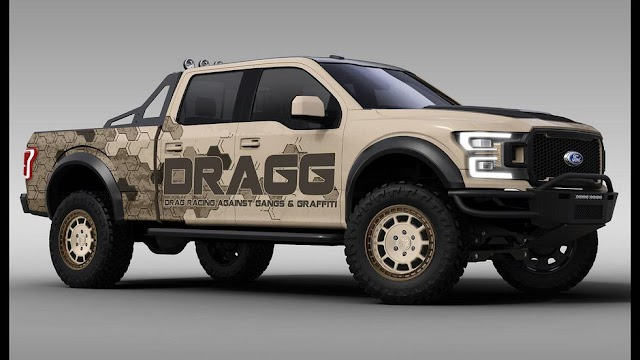 Ford shows off flock of F-150 and Mustang models headed to SEMA