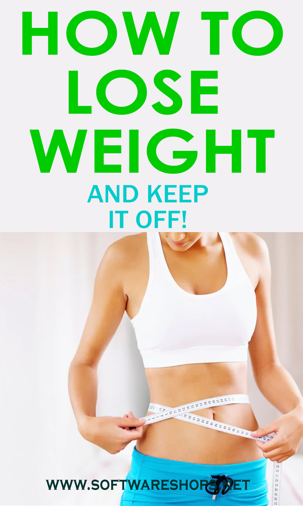 How to lose weight and keep it off!