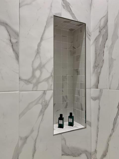 shower detail Hotel Sofitel Villa Borghese Rome-Gillian Longworth McGuire