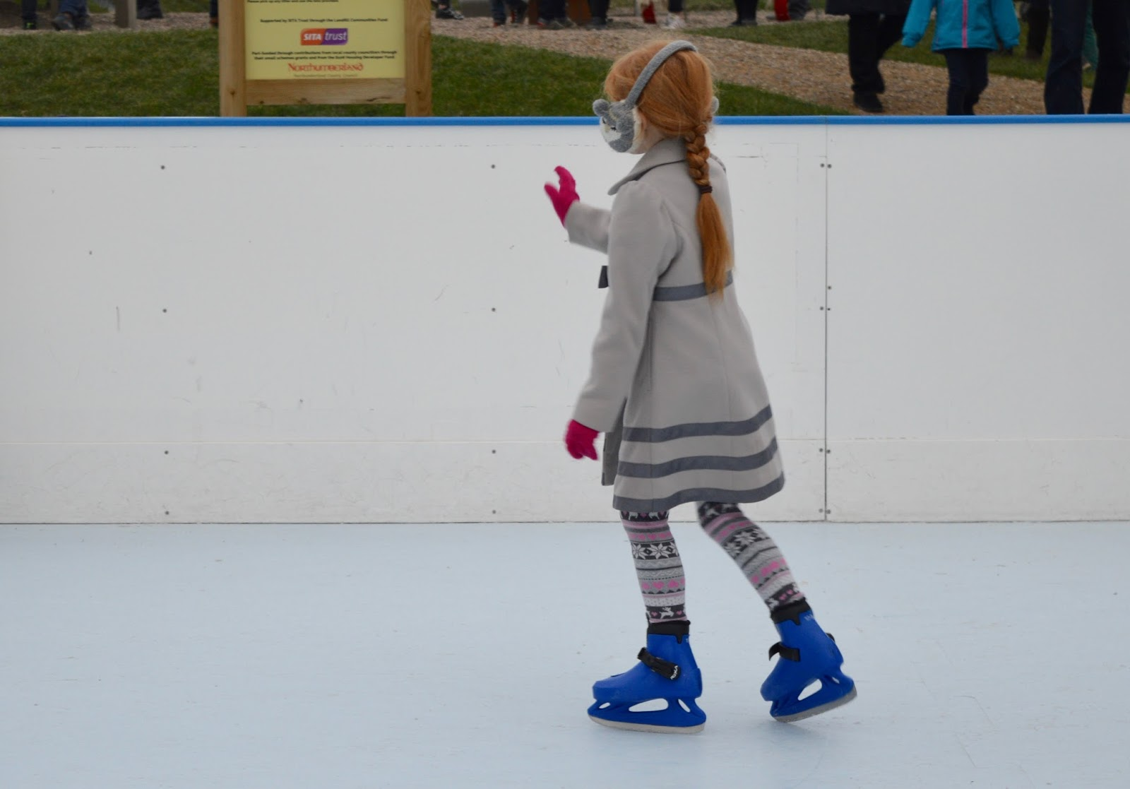 Frost of Forgetfulness | A FREE Winter Trail and activity at Woodhorn Museum in Northumberland (continues until 23rd December) - ice skating