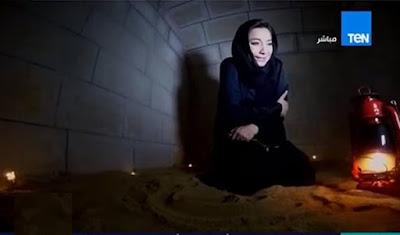 مذيعة دخلت قبر لمدة ساعة لتشاهد ما الذي سيحدث ...شاهد ماذا حدث لها