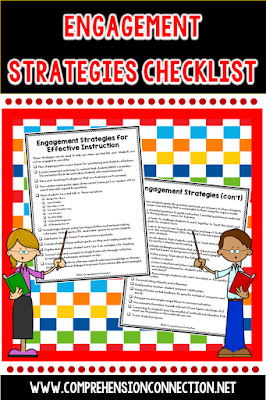 Want a checklist to refer to when you're planning? This freebie is just what you need. Try one or two or ten ideas and see if you see a difference.