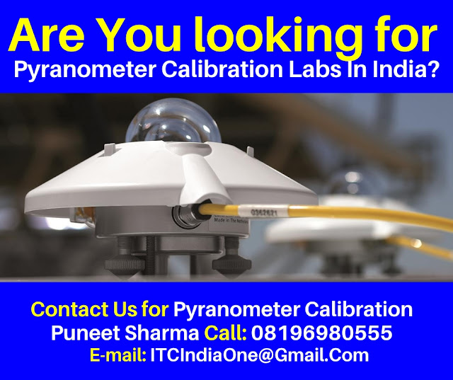 ISO 9847 Calibration of Field Pyranometers