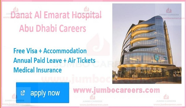 UAE Latest hospital jobs and careers,