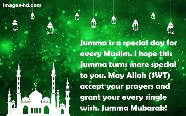 Jumma mubarak is a Special day