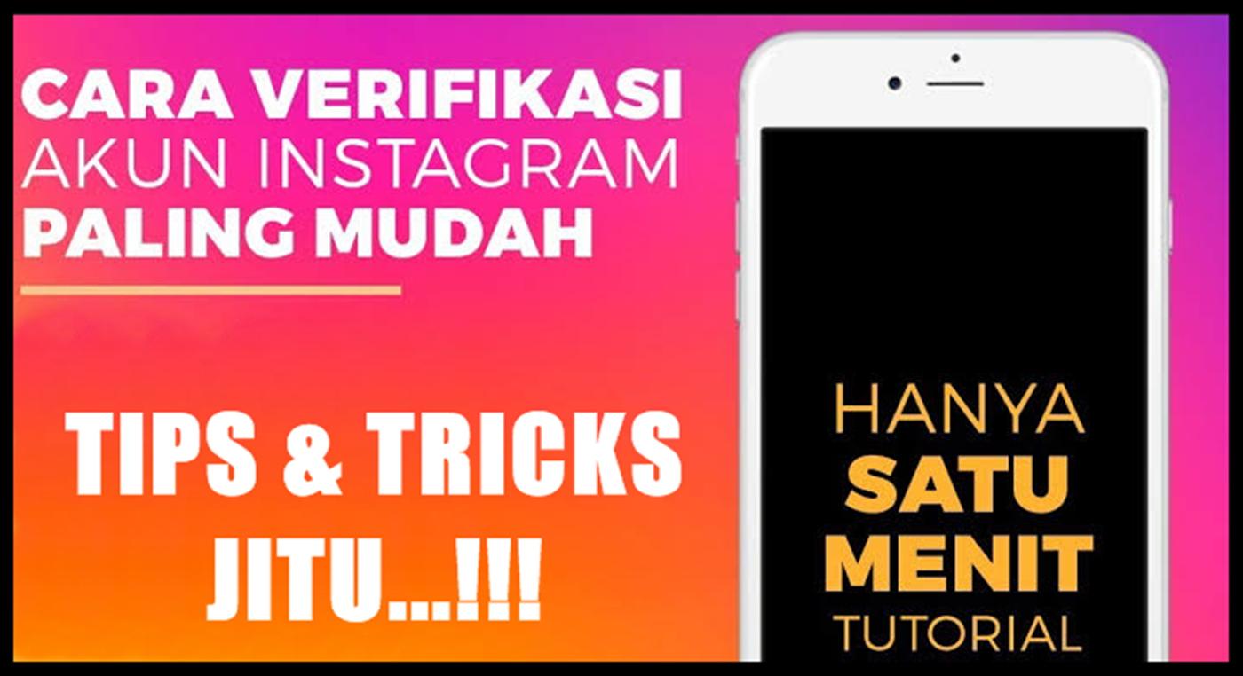 verifikasi akun bisnis instagram