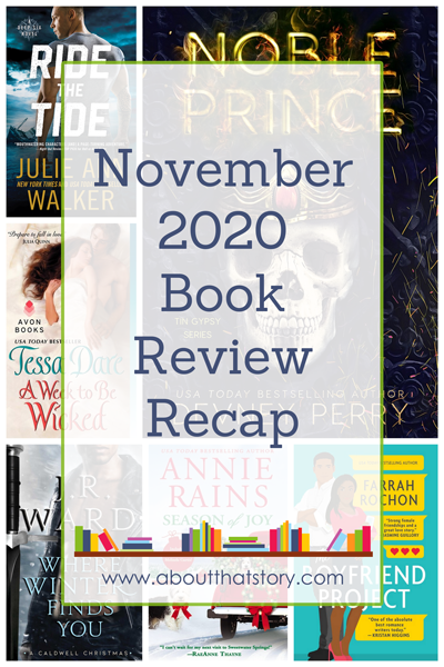 November 2020 Book Review Recap | About That Story