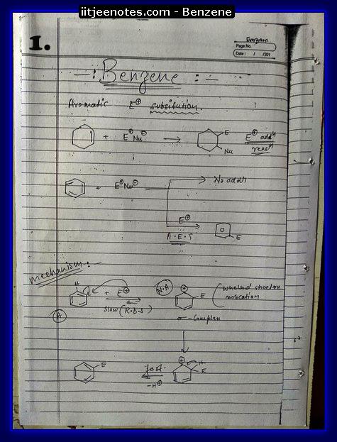 Benzene Notes1