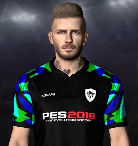 PES 2017 Faces David Beckham by Ben Hussam FaceMaker