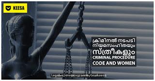 Criminal Procedure Code and Women
