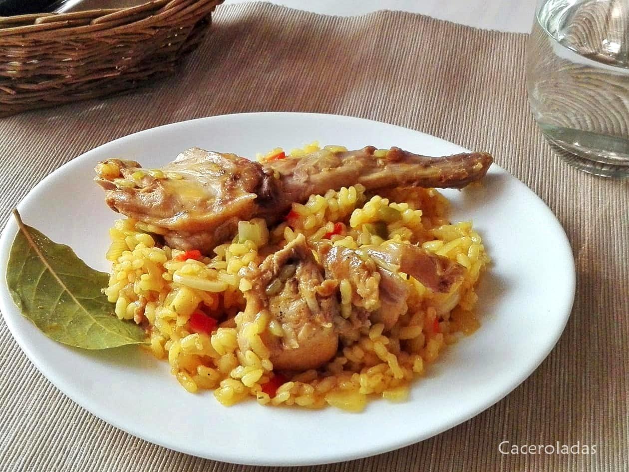 arroz con conejo