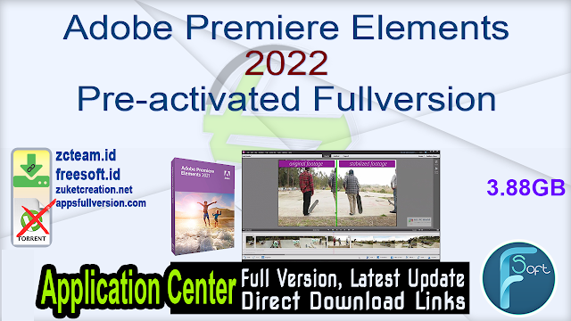 Adobe Premiere Elements 2022 Pre-activated Fullversion