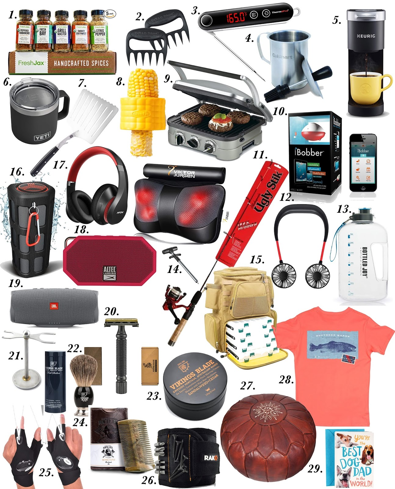 Father's Day 2020 Gift Ideas - Gift Ideas for Guys - Something Delightful Blog #fathersdaygifts #giftsformen #guygifts #giftideasforguys