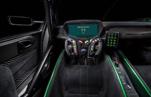 Interior Brabham BT62