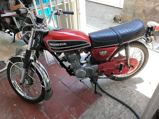 Lapak Motor Klasik For sale honda cb 125 th 1974