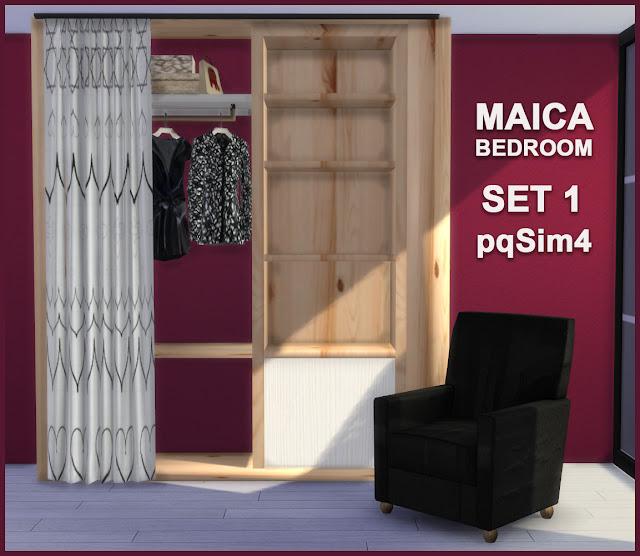 Armario y sillón Maica 9