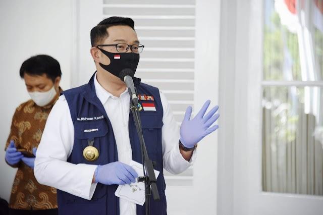 Besok, Gubernur Jabar  Ridwan Kamil Siap Jalani Penyuntikan Pertama Relawan Vaksin COVID-19
