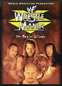 WWE / WWF Wrestlemania 15: Event poster