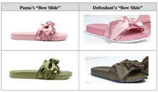 sandal bow slide