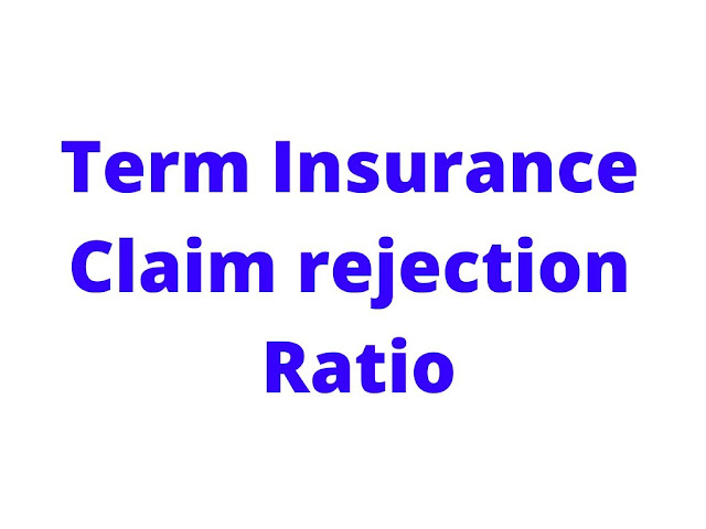 Term Insurance Claim rejection ratio,term insurance