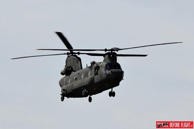 Ultima missione elicottero CH47C Esercito