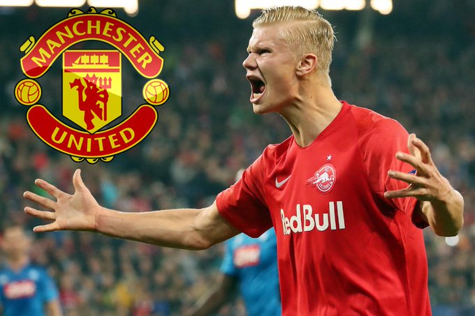 OMG! Erling Braut Haaland Tells Solksjaer He Will Join Manchester United In January!