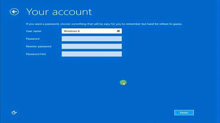 user cara instal windows 8