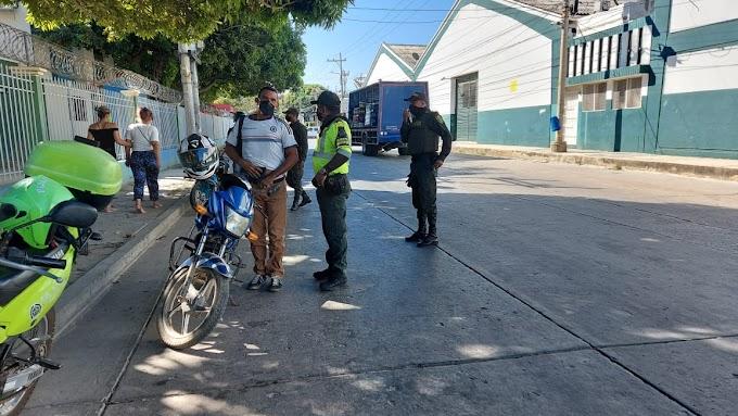 Policía Metropolitana adelanta actividades de prevención y control en el barrio 20 de Julio