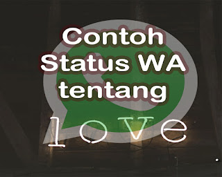 Alternative Status WhatsApp cinta kerinduan dan galau