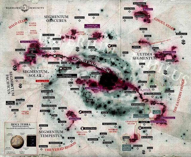 Mapa Warhammer 40,000