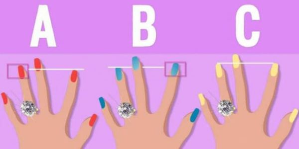 Your fingers can tell you a lot about your personality. What kind of fingers do you have?