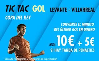 Suertia promo copa Levante vs Villarreal 3-2-2021