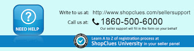 ShopClues 24×7 Seller Support Number India