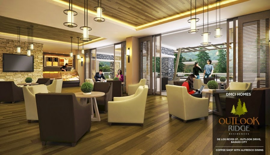 Outlook Ridge Residences COFFEE SHOP WITH AL FRESCO DINING