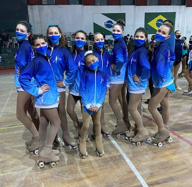 Equipe de Foz conquista sete medalhas na Copa Nacional Interclubes de Patinação Artística