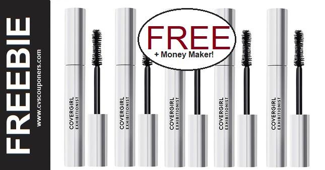 FREE CoverGirl Exhibitionist Mascara CVS