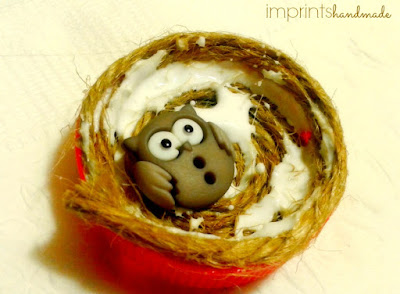 How to make a bird nest magnet for your fridge