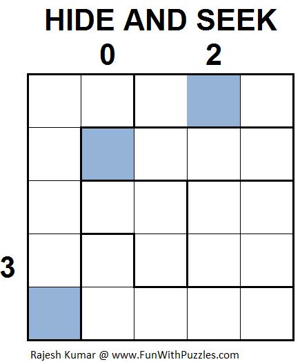 HIDE AND SEEK (Mini Puzzles Series #30)