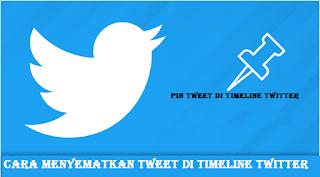 Begini Cara menyematkan tweet di timeline Twitter