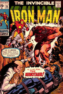 The Invincible Iron Man #24, the Minotaur